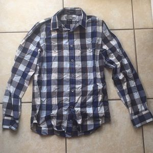 EUC Express Modern Fit Button Down